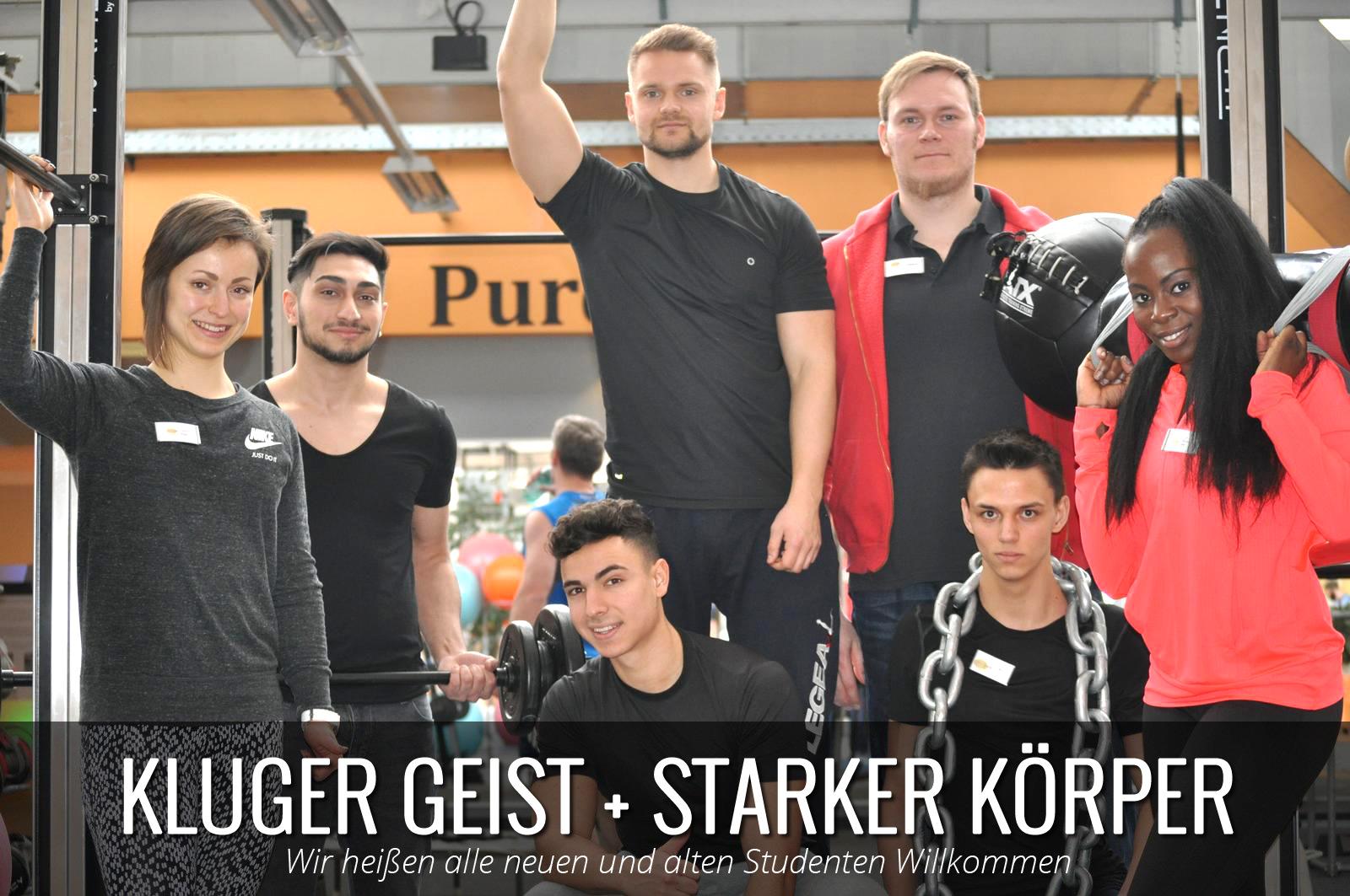 Studenten Fitnessstudio Münster